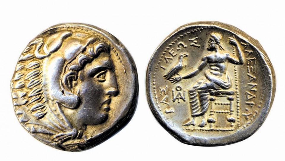 アレクサンドロス大王型式銀貨
